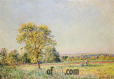 A Summer's Day, 1886 | Alfred Sisley | Painting Reproduction