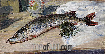 The Pike, 1888 | Alfred Sisley | Painting Reproduction