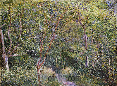 In the Wood, undated | Alfred Sisley| Gemälde Reproduktion