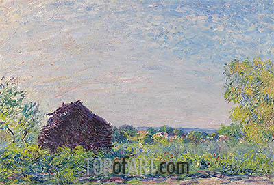 The Haystack, 1877 | Alfred Sisley | Painting Reproduction