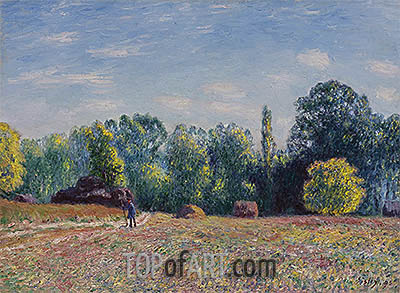 Edge of Forest, 1895 | Alfred Sisley| Gemälde Reproduktion
