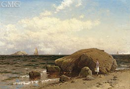 Looking out to Sea, c.1885 by Alfred Thompson Bricher | Painting Reproduction