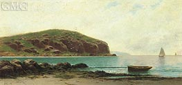 Coastal View, undated by Alfred Thompson Bricher | Painting Reproduction