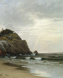 Cloudy Day, 1871 by Alfred Thompson Bricher | Painting Reproduction