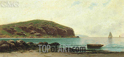Coastal View, undated | Alfred Thompson Bricher | Painting Reproduction