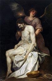 Der tote Christus von einem Engel gehalten, c.1646/52 von Alonso Cano | Gemälde-Reproduktion
