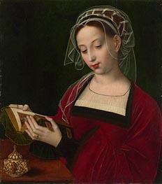 The Magdalen Reading, c.1525 von Ambrosius Benson | Gemälde-Reproduktion