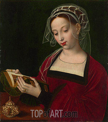 Ambrosius Benson | The Magdalen Reading, c.1525