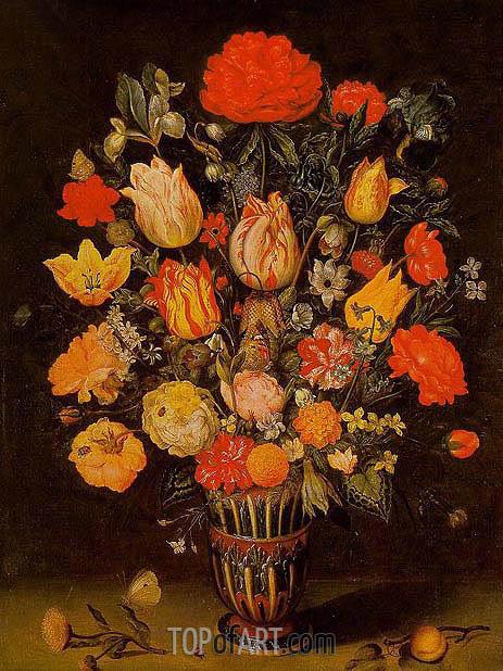 Ambrosius Bosschaert | Still Life of Flowers, undated