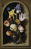 Bouquet of Flowers in a Niche | Ambrosius Bosschaert the Elder