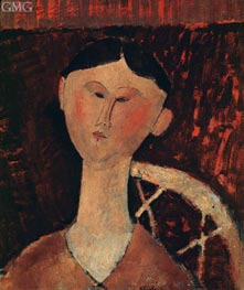 Portrait of Mrs Hastings | Modigliani | Painting Reproduction