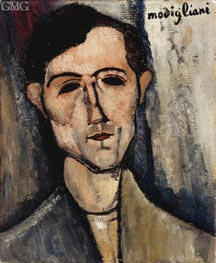 A Man | Modigliani | Painting Reproduction
