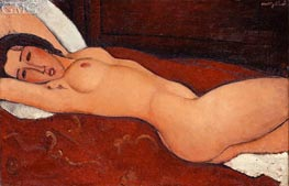 Reclining Nude, 1917 by Modigliani | Painting Reproduction
