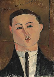 Paul Guillaume, 1916 by Modigliani | Painting Reproduction