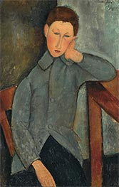 The Boy, 1919 by Modigliani | Painting Reproduction