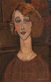 Renée, 1917 by Modigliani | Painting Reproduction