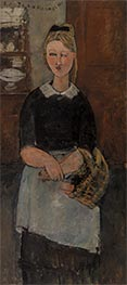 The Pretty Housewife, 1915 by Modigliani | Painting Reproduction