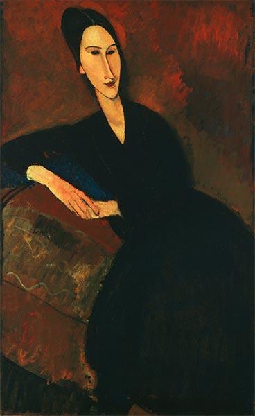 Modigliani | Anna Zborowska, 1917