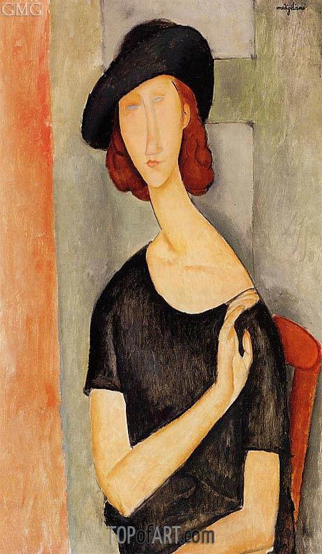 Modigliani | Jeanne Hebuterne in a Hat, c.1919