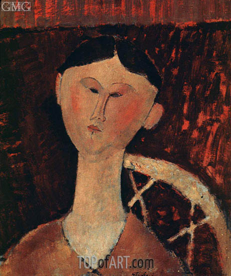 Portrait of Mrs Hastings, 1920 | Modigliani | Painting Reproduction