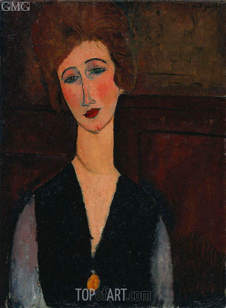 Modigliani | Portrait of a Woman, 1918