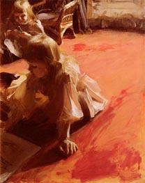 Porträt der Töchter von Ramon Subercaseaux, 1892 von Anders Zorn | Gemälde-Reproduktion
