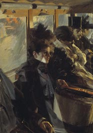 Omnibus | Anders Zorn | Painting Reproduction