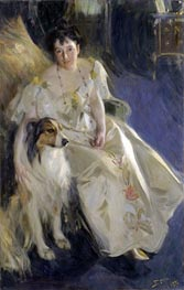 Mrs. Walter Rathbone Bacon | Anders Zorn | Painting Reproduction