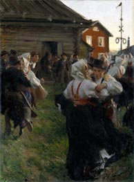Midsummer Dance | Anders Zorn | Painting Reproduction