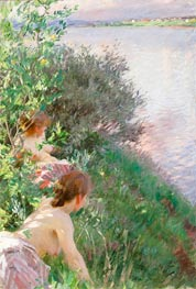 Opal, 1891 by Anders Zorn | Painting Reproduction