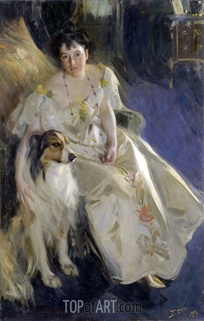 Anders Zorn | Frau Walter Rathbone Bacon, 1897