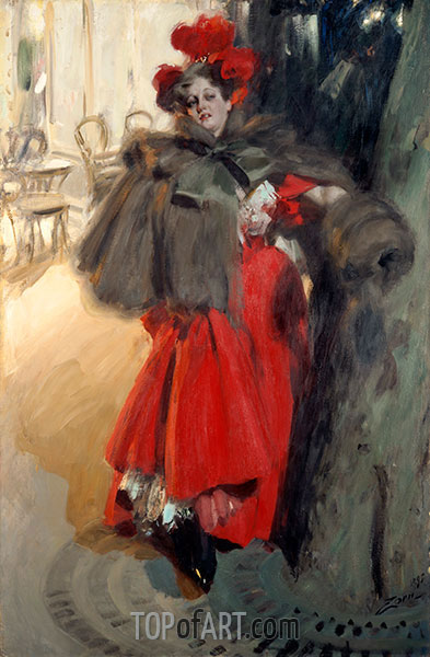 Anders Zorn | Night Effect, 1895