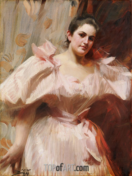 Anders Zorn | Frieda Schiff, Later Mrs. Felix M. Warburg, 1894