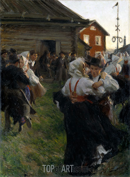 Anders Zorn | Midsummer Dance, 1897