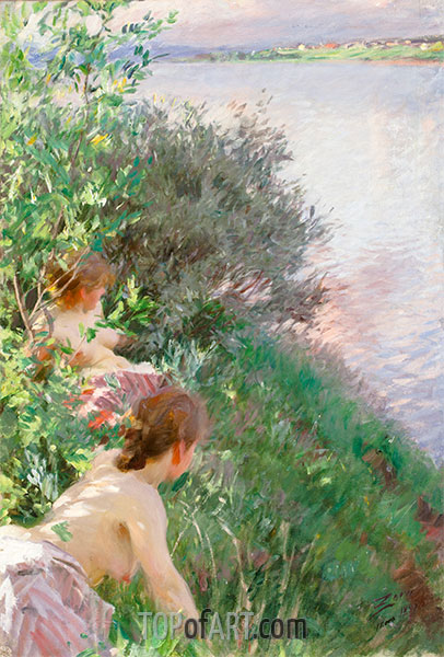 Opal, 1891 | Anders Zorn | Painting Reproduction