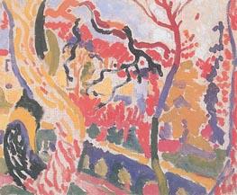 Landscape at Collioure, Summer 190 von Andre Derain | Gemälde-Reproduktion