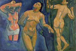 Bathers, 1907 by Andre Derain | Painting Reproduction