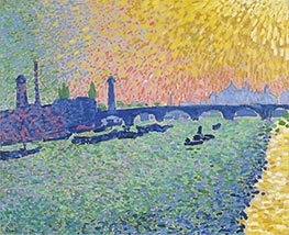 Waterloo Bridge, 1906 by Andre Derain | Painting Reproduction