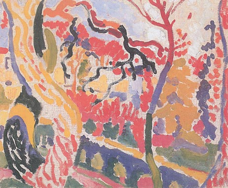 Landscape at Collioure, Summer 190 | Andre Derain | Gemälde Reproduktion