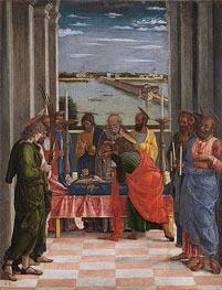 Death of the Virgin, c.1462 von Mantegna | Gemälde-Reproduktion