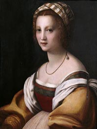 Portrait of a Woman | Andrea del Sarto | outdated