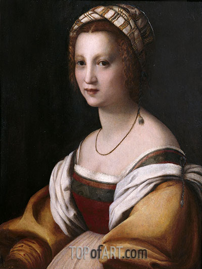 Andrea del Sarto | Portrait of a Woman, c.1514