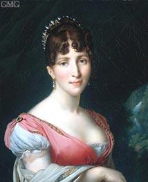 Hortense de Beauharnais, 1808 by Girodet de Roussy-Trioson | Painting Reproduction