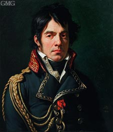 Portrait of Baron Jean-Dominique Larrey, 1804 by Girodet de Roussy-Trioson | Painting Reproduction