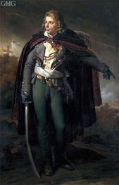Portrait of Jacques Cathelineau commander of the Vendee, c.1816/24 von Girodet de Roussy-Trioson | Gemälde-Reproduktion