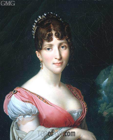 Girodet de Roussy-Trioson | Hortense de Beauharnais, 1808