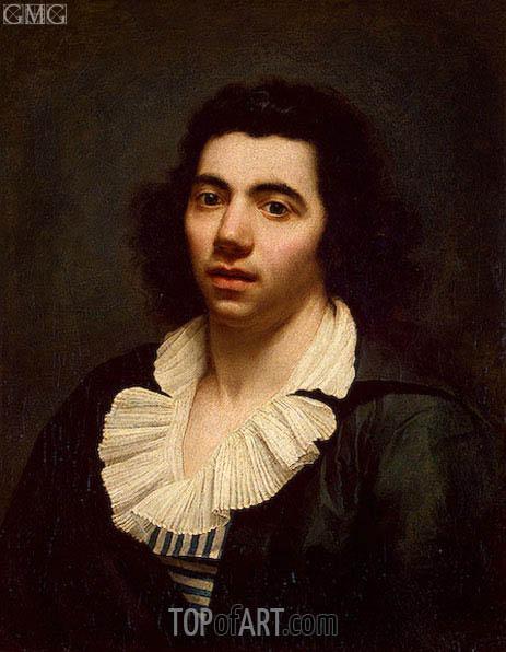 Girodet de Roussy-Trioson | Self Portrait,