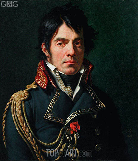 Girodet de Roussy-Trioson | Portrait of Baron Jean-Dominique Larrey, 1804