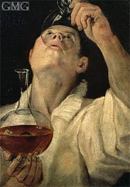 Boy Drinking | Annibale Carracci | Painting Reproduction