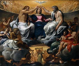 The Coronation of the Virgin | Annibale Carracci | outdated